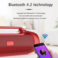 V8 Stereo Bluetooth Speaker Portable Bass Subwoofer Boombox Wireless audio Support TF card,TWS,AUX,USB Flash Drive