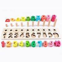 Puzzle contando juguetes de madera educativos inteligentes