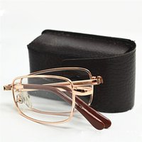 2021 Sunglasses Lenses Mini Folding Reading Glasses Men Women Ultralight Watch Presbyopic Eyeglasses Diopter 1.5 3.5 Slim Foldable Small Eyewear Oculos