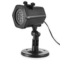 Lampade da prato inglese IP65 impermeabile proiettore luce 12 modelli esterni LED lampada a LED decorazioni per la casa da giardino Natale