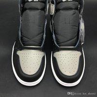 الهواء 1 ارتفاع og الظل 555088-013 1 ثانية أنا أسود رمادي المرأة الرجال الرجال الأحذية الرياضية عارضة أحذية رياضية ذات نوعية جيدة مع المربع الأصلي chaussures d