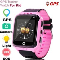 Q529 Kids Smart Watch GPS With Camera Flashlight Baby Watch SOS Call Location Device Tracker Children Safe SmartWatch boy girls