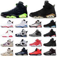 6 6S Basketball Chaussures Mens PE DMP olympique Millennial Rose Tinker Hatfield Infrarouge Réfléchissant Floral Formateurs Jumpman Hommes Sports Sneakers