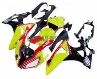 Injection Molding Motorcycle Fairings kit Fairing kits For BMW S1000RR 2009-2014 2010 Free Custom 2011 2012 2013 09 10 11 12 14 13 Bodywork Yellow Red Black