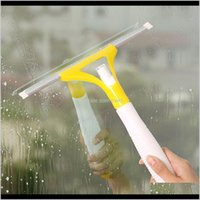 Brushes Household Tools Housekeeping Organization & Garden Drop Delivery 2021 Random Color Spray Glass Brush Wiper Cleaner Washing Scraper Ho