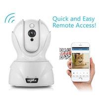 Annke 720 P Akıllı Kablosuz Güvenlik IP Kamera Wi-Fi Pan Tilt İki Yönlü Ses Kapalı CCTV Smartphone PC Tablet Kameralar Için