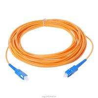 SC / UPC-SC / UPC-SM Câble de cavalier à fibre optique de la fibre optique de la fibre d'extension d'extension d'extension JA27 21 Connecteurs de câbles d'ordinateur Dropits
