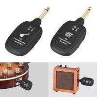 Ricevitore trasmettitore di sistema wireless per chitarra UHF Ricevitore per chitarra wireless ricaricabile integrata
