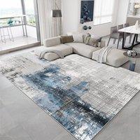 Tapetes moderno tapete abstrato tapete grande tamanho para sala de estar sofá macio sofá esteira casa casa quarto de cabeceira decoração janela