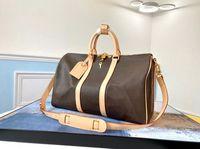 55см Duffle Dravel Bag Men's Duffel рюкзак на улице Уличные пакеты Messenger Bags Fitness Things Sacks Tote