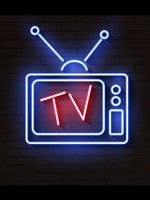 Neon Sign For neon TV with antenna glass tubes Television decorate light home Hotel Arcade DISPLAY BUSINESS Impact Attract light