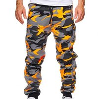 Men's Pants Men Camouflage Jogger Cargo Outdoor Tactical Military Pant Casual Streetwear Pockets Trouser 3XL