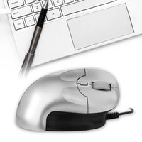 Wired 6 Keys Ergonomic Mouse Vertical Design Gaming Office Mice For Laptop PC PUO88