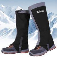 ماء الثلوج يغطي في الهواء الطلق التزلج الجرمامة الأحذية الأحذية الساق الرجال النساء غطاء المشي لمسافات طويلة تسلق ذراع تدفئة