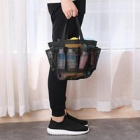 Сумки для хранения T84E Multi-Pocket Sheest Shower Caddy Tote сумка, висит портативный туалет для мужчин и женщин