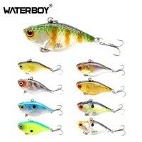 Waterboy 1pcs 4 cm 4.6g Mini VIB Fishing Lure Rattlin VIB Duro Cebo Wobbler Crankbait Isca Perca artificial