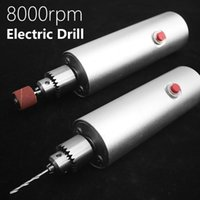 Professiona Electric Drills Mini Drill Speed Adjustable Grinder Multi-function DIY For Engraving Drilling Polishing Woodworking