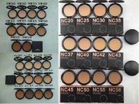ماكياج NC NW الألوان ضغط مسحوق مع نفخة 15G العلامة التجارية تجميل مستحضرات التجميل مضغوط الوجه مسحوق الأساس أعلى جودة