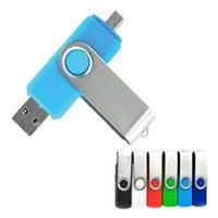 colorful OTG phone Usb flash card 8gb 16gb 32gb 64gb 128gb USB2.0 Drives rotary Pen Drive memory stick pendrive cle
