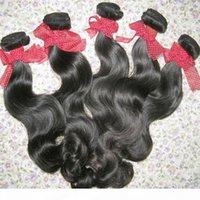 Сырые необработанные наращивания волос Высококачественные филиппинские тела волны 3 пакета доливая большая красота