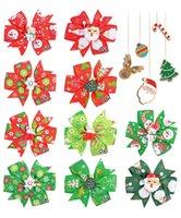 YLSP Fashion Cute Mini Bows Hair Clips For Baby Girls Colorful Christmas Hairclip Hairpins Barrettes Child Kids Headwear Accessories