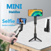 FANGTUOSI New Handheld Gimbal Stabilizer Phone Automatic Balance Selfie Stick Tripod With Fill light For Smartphone