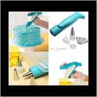 Инструменты оптовые продажи Pen Set Cuttry Cleaning Piping Bag Содерживает Советы помадки сахарного ремесла Украшения торт NXJWB CG5WA