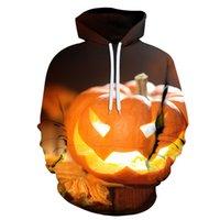 Men And Women Halloween Costumes 3D pumpkin Printed Sweatshirt Spring Autumn Hoodie