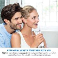 H2Ofloss irrigateur oral 5 modes 300 ml USB rechargeable rechargeable eau dentaire dentaire dentaire nettoyeur + 5 piecard