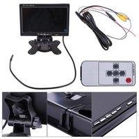 Car Video 7 Inch LCD Monitor Display 480*234 For Reversing Rear View Backup Camera