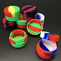 Smoking Accessories silicone oil container dab jars silicon Wax for Dry Herb Atomzier dabber box tool