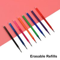 Gel Pens 5PCS GENKKY Magic Erasable Pen Refill 0.5mm Blue Black Red Ink For Writing Stationery Office School Supplies