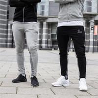 Мужские штаны yemeke 2021 осенью мышцы мужские бегуны фитнес мода бренд спортивные штаны мужчины повседневные брюки карандаша