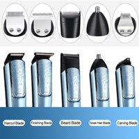 Hair Clippers 5-IN-1 Men Electric Shaver Kit W  Digital Display Mustache Trimmer Rechargeable Wet Dry Use Washable Fo Office Travel