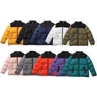 Giacche hip-hop di marca da donna da uomo, autunno e inverno giù cappotti di parka, giacca spessa autentica, tessuti superiori. Giacca in cotone vellutato-M-XXL Ricamo
