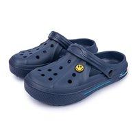 Newbeads Crocks Sandales Crocse Chaussures Chaussures Couple Chaussons Home Pantoufles Été Été Sourire Sourire Visage Boucle Hommes Et Femmes Plage Plat ERT5JJJTFGH