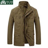 Plus taille 7XL Marque 8XL Veste militaire Hommes Automne Hiver Coton Haute Qualité Outwear Armée Manteaux mi-longue Homme Jauquetta Masculinina Hommes Jackke
