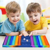 55% de rabais 32cm Mega Grand Greant Fidget Toicas Toys Toys Formes Formes Push Finger Fun Puzzle Tiktok Jigsaw Soulagement de stress 072306