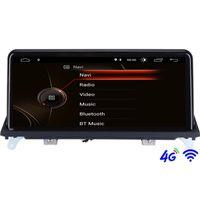 "Oyuncu 10.25 ""IPS Android 10.0 Araba DVD GPS Radyo X5 E70 X6 E71 2007-2013 CCC / CIC Sistemi Navigasyon Oto Multimedya"