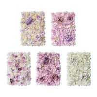 """Decorative Flowers & Wreaths Artificial Flower Wall Panel Privacy Pography Props Decor 24""""x16"""" Mat For Girls Room Christmas Bridal Shower"""