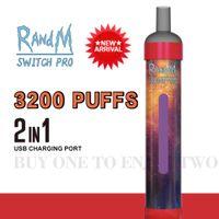 Fumot RandM switch pro 3200puffs disposable cigarette 2 in 1 vape pen
