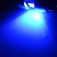 Auto Motorrad Lizenznummer Platte Schraube Bolzen Blaues Licht 17 * 12 * 12mm Scheinwerfer