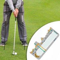 Golf Training Aids Station Board Swing Trainer Practice Pratica Pratica Consegna Forniture da battuta Accessori Principianti Calibrazione Postu J8H5