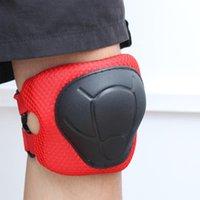 PCS Proteção Conjunto de Engrenagem Roller Skating Macio Ao Ar Livre Esportes Cotovelo almofadas de Pulso Protetores de Pulso Kneepads para Kids Knee