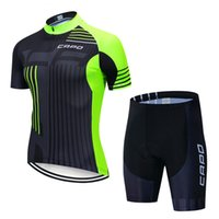 Erkek Eşofman Capo Pro Bisiklet Formaları Set Yaz Giyim Dağ Bisikleti Giysileri Bisiklet Giyim MTB Suit