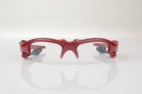 스마트 안경 이어폰 헤드 스탠드 프리 프로필 블루투스 선글라스 음악 및 음성 붉은 색