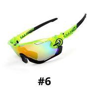 Commercio all'ingrosso-3lens Occhiali da sole da uomo Bici Bike Polarizzato Eyewear in bicicletta Goggles Goggles Lunette Soleil Homme Sport Guire Sole Occhiali da sole con telaio Myopia