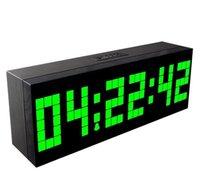 Другие аксессуары Часы Декор Главная Сад Drop Доставка 2021 Прибытие Большой Цифровая Шахматы Обратный отсчет Часы Манушки Второе и отображение температуры