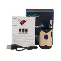 Authentic Kangvape Th420 Kit di avviamento con batteria da 650 mAh Th-420 Vape Box mod per atomizzatore a cartuccia olio spessa