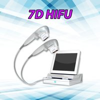 Ultrasound Liposuction Home Use Skin Tightening Machine with Two Pieces of 7D HIFU Handles Cellulite Reduction